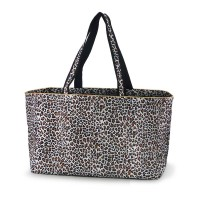 CARRYALL LARGE TOTE BAG - LEOPARD
