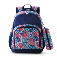 COMFORT BACKPACK 2PCS - BLOOM SHELL NAVY