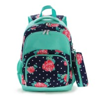 COMFORT STRENGTH BACKPACK 2PC -- NAVY DOTS  PENOY