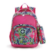 COMFORT STRENGTH BACKPACK 2PC -- SWIRL FLORAL
